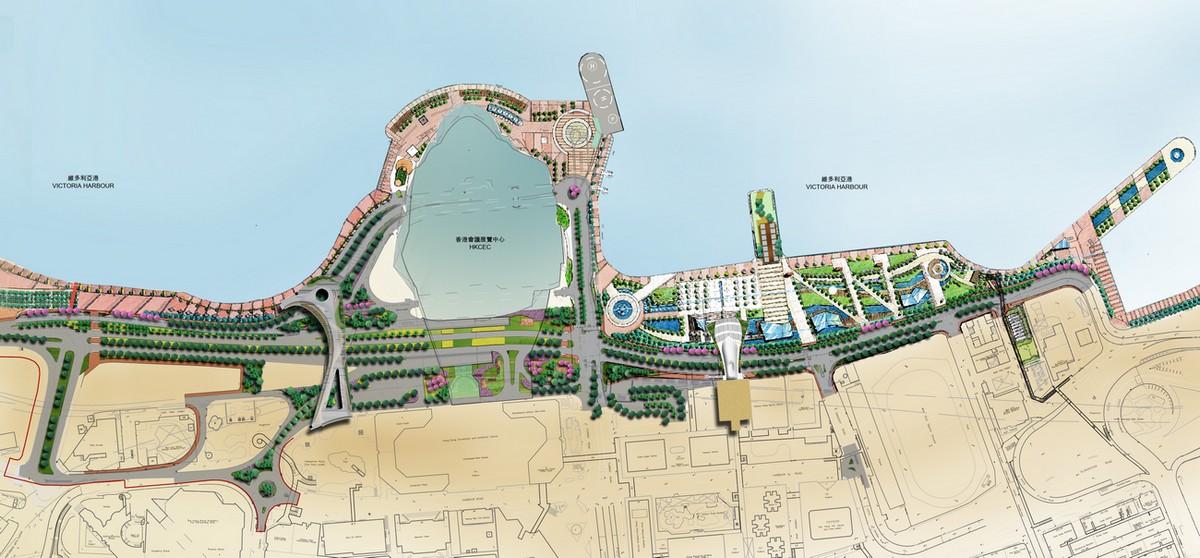 [组图] 海滨长廊:香港中环湾仔通道(特色32P) - 路人@行者 - 路人@行者